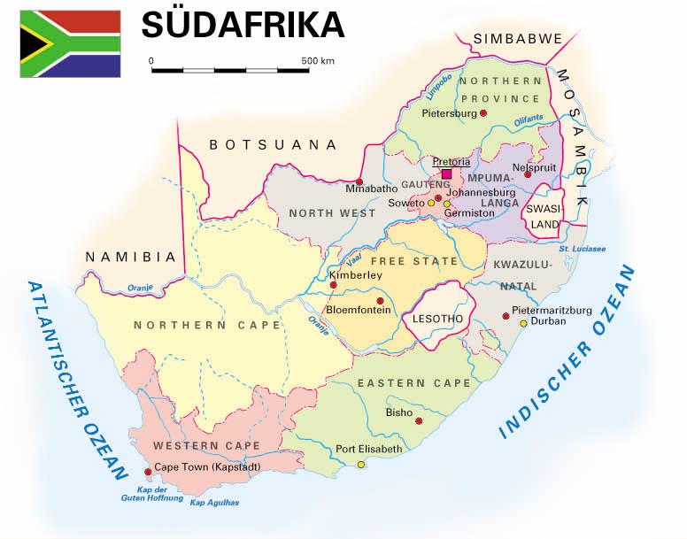 Südafrika Karte.Südafrika Kooperation International Forschung Wissen Innovation