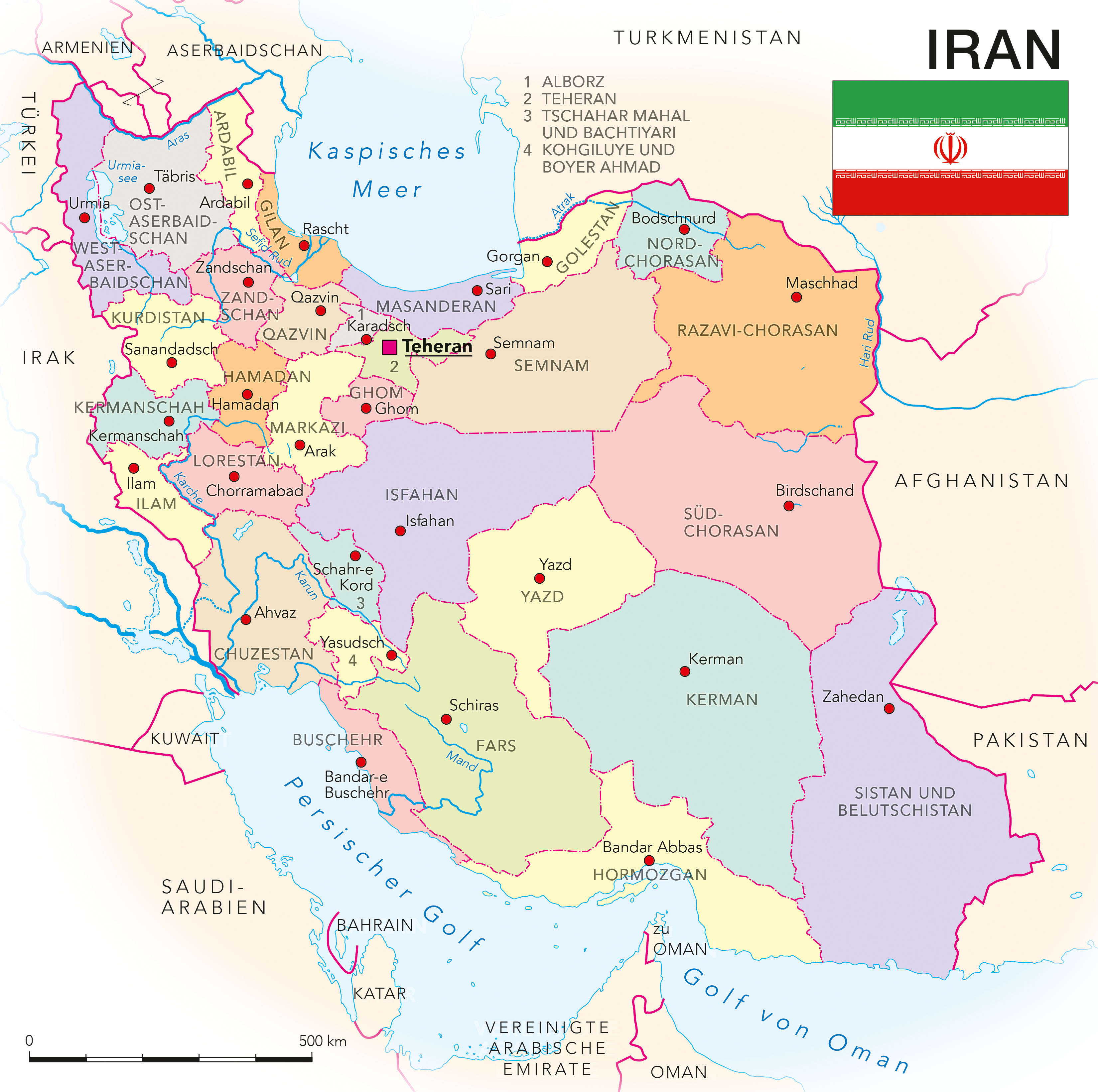 Iran Kooperation International Forschung Wissen Innovation