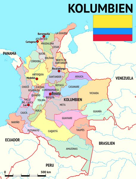 Zeitzone Kolumbien