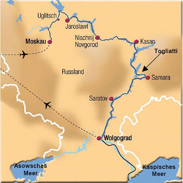 samara russland karte Samara / Togliatti | kooperation international | Forschung. Wissen  samara russland karte