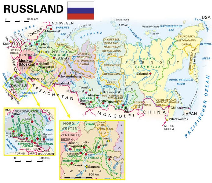 Russland europa oder asien grenze